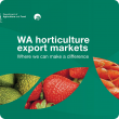 WA Horticulture Export Markets cover page