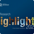Blue DPIRD Research Highlights 2021 cover