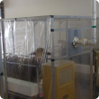 sheep in methane chamber