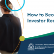 How to become investor ready workshops calendar of events