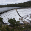 Overflowing Wellington Dam