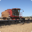 Harvesting short, patchy crops