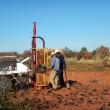 Soil sampling in the Pilbara