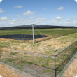 Bird netting covering the NGNE facility at Merredin