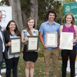 Young Professionals in Agriculture Forum awards recipients