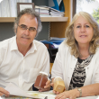 Muresk Institute General Manager Prue Jenkins and Dr Mark Sweetingham, Department of Agriculture and Food, are looking forward to the establishment the State Soil Archive at Northam.