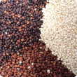 Black, White and Red Quinoa