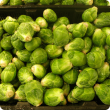 Brussels sprouts displayed for sale