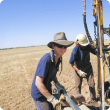 Photo caption: Stephanie Boyce, 2013 AgLinkEd scholarship recipient, recently started work as a technical officer with the Department of Agriculture and Food in Geraldton.