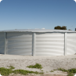Photograph of wagter storage tanks suitable for rural use.