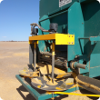 Photograph of a spreader suitable for low rates of clay spreading for erosion control