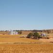 Farm silos at Goomalling