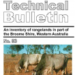 An inventory of rangelands in part of the Broome Shire, Western Australia. Technical bulletin no. 93