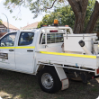Residents in Coolbellup and surrounding areas will see this Department of Primary Industries and Regional Development vehicle over the next few weeks releasing sterile insects as part of the Qfly eradication campaign.