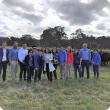 Members of the Thai delegation visiting Blackwood Valley Beef and Wide Open Agriculture as part of the tour through the South West.