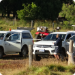 DAFWA team prepare to sample a participating farm in south west WA